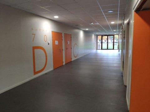 couloir amphi